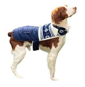 Imagen de Capa de abrigo para mascotas medianas, forrada en corderito, varios colores