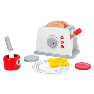 Imagen de Electrodoméstico, tostadora de madera, en caja
