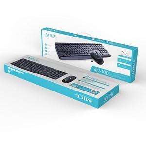 Imagen de Mouse y teclado inalámbrico Imice A, en caja