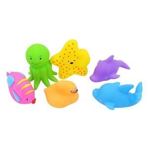 Imagen de Animales de goma x5 con chifle, en red