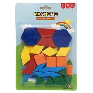 Imagen de Blocks x48 piezas magnéticos, en blister