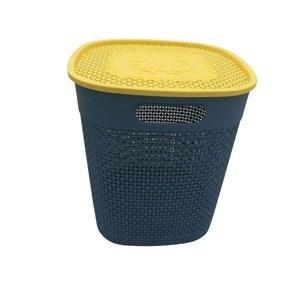 Imagen de Caja organizadora de plástico, con tapa, varios colores