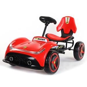 Imagen de Auto kart a pedal ROJO, ruedas de plástico, en caja