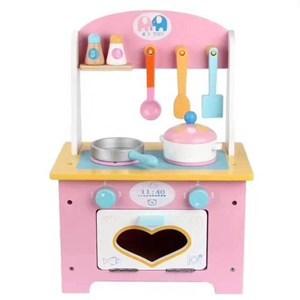 Imagen de Electrodomésticos, cocina de madera, con utensilios, en caja