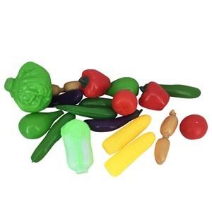 Imagen de Frutas y verduras grandes x18, en red