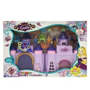 Imagen de Castillo doble con luz y sonido, con accesorios, en caja
