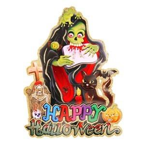 Imagen de Poster de Halloween con brillantina