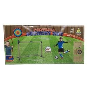 Imagen de Arco de fútbol 3en1, con arco y flechas,tiro al blanco, en caja