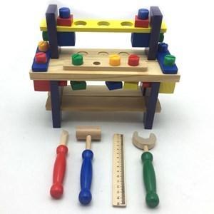 Imagen de Encastre herramientas banco de madera, 32 piezas en caja