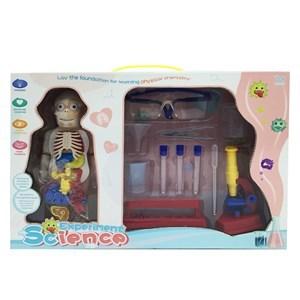 Imagen de Set de doctor laboratorio, 12 piezas con paciente, en caja