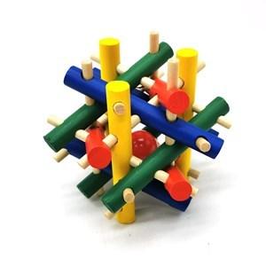 Imagen de Cubo mágico, puzzle 3D de madera, varios modelos