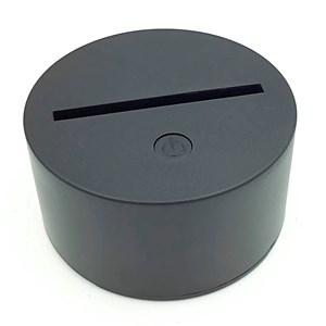 Imagen de Lámpara led 3D RGB con control, 3AA o USB en caja
