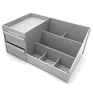 Imagen de Organizador de plástico, para cosméticos, escritorio, etc, varios colores