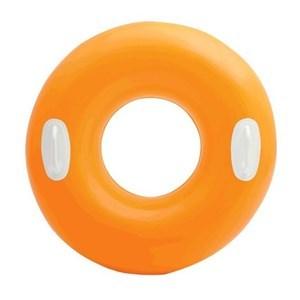 Imagen de Inflable flotador salvavidas con agarres INTEX 91cm, en bolsa, varios colores