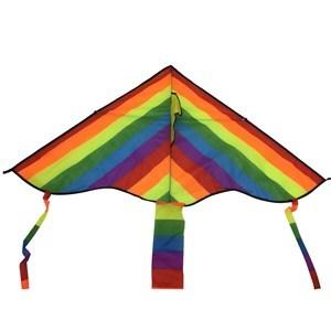 Imagen de Cometa triángulo con hilo, multicolor