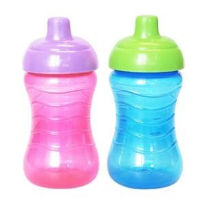 Imagen de Botella de plástico MI-K, 295ml, pico fijo, 2 colores
