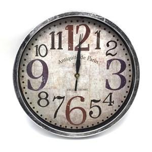 Imagen de Reloj de pared, 30cm de diámetro 3 diseños, en caja