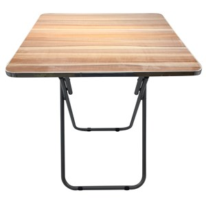 Imagen de Mesa plegable cuadrada de madera