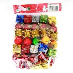 Imagen de Adorno navideño surtido x35 en bolsa
