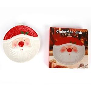 Imagen de Bandeja de cerámica diseño navideño, en caja