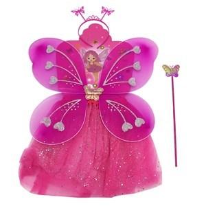 Imagen de Alitas mariposa con pollera y accesorios, en bolsa