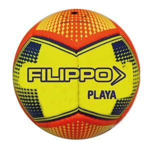 Imagen de Pelota de fútbol, N°2 cosida, Filippo, AMARILLO, 12 paneles