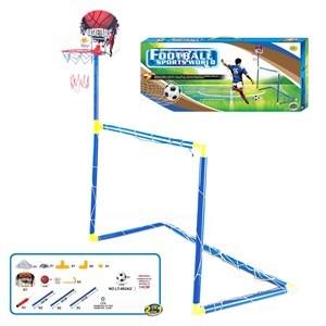 Imagen de Arco de fútbol y tablero basket en caja