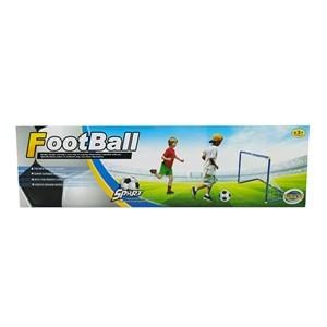 Imagen de Arco de fútbol, con pelota de 14cm, en caja