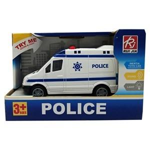 Imagen de Ambulancia a fricción, con luz y sonido, en caja