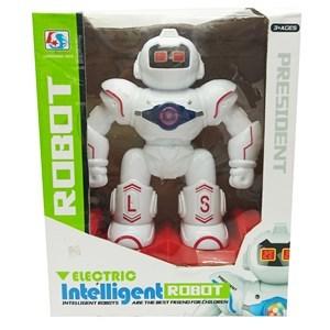 Imagen de Robot con luz, sonido y movimiento, en caja