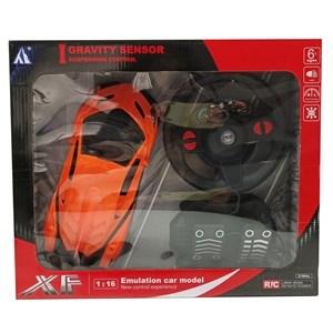 Imagen de Auto con control remoto y pedalera, en caja