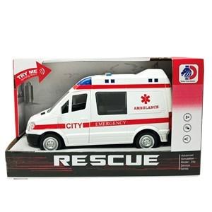 Imagen de Ambulancia a fricción con luz y sonido