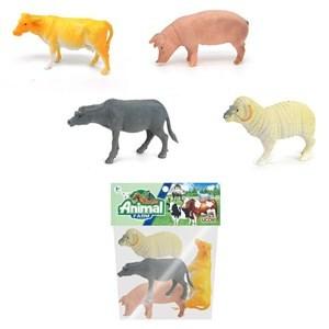 Imagen de Animales de granja, 4 piezas, en bolsa