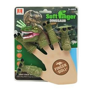 Imagen de Títere de dedo dinosaurio, en cartón