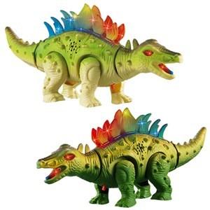 Imagen de Dinosaurio con luz sonido y movimiento, en caja