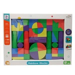 Imagen de Blocks de goma EVA, 47 piezas, en caja