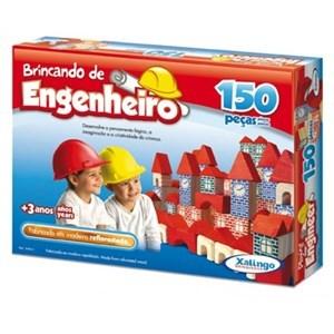 Imagen de Blocks de madera, 150 piezas, XALINGO, en caja